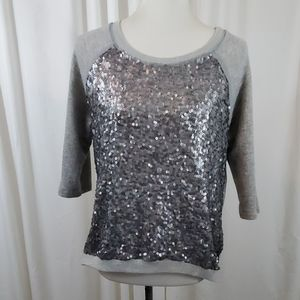 URBAN OUTFITTERS SILENCE & NOISE Sequined Sweater